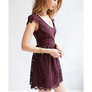 Urban Outfitters Kimchi Blue Lace Mini Dress - XS